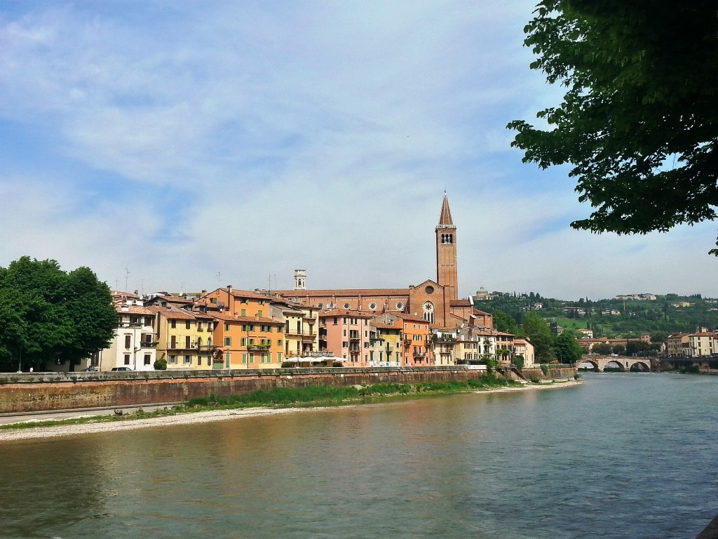 Classic Verona on the river