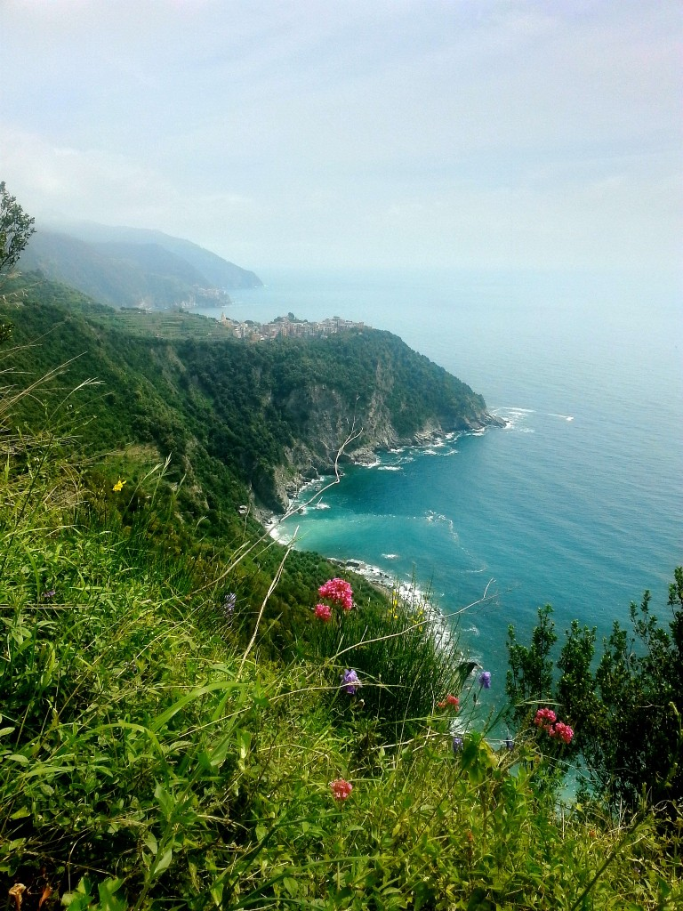 Breathtaking scenery looking towards Corniglia