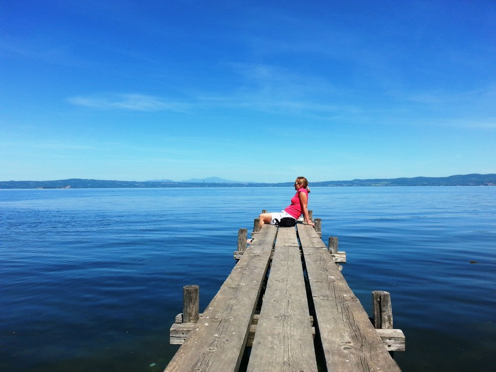 Pure serenity at Lago Bolsena