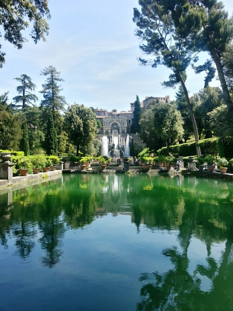 Villa d'Este and its gardens