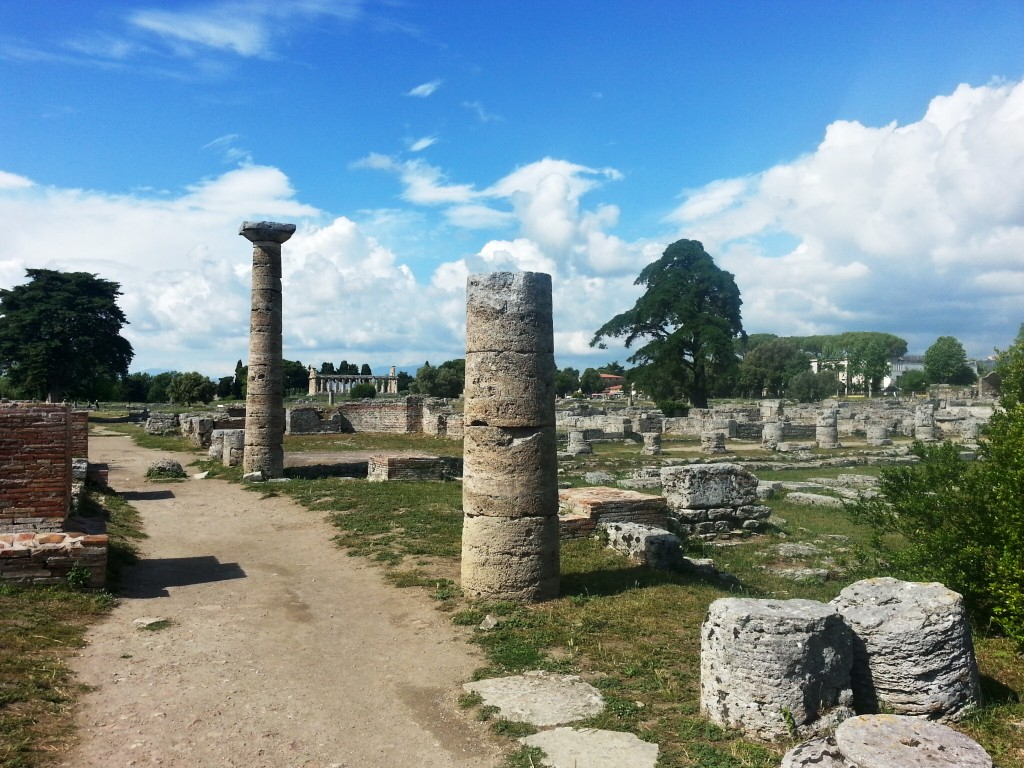 Paestum - how grand it must have been