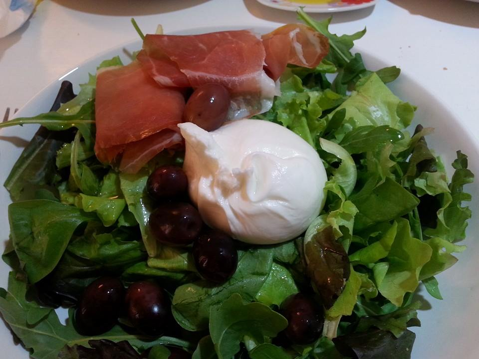 We ate one burrata every day